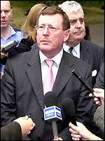 David Trimble of the UUP
