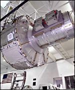 Specially designed airlock for the International Space Station