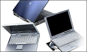 Fujitsu notebook computers