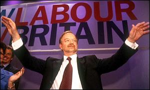 Robin Cook at party conference