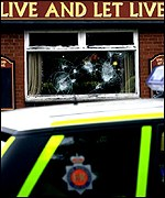 The pub in Glodwick in Oldham which was the scene of clashes