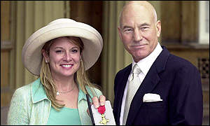 Patrick Stewart and his wife Wendy