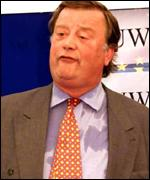 Tory leadership contender Kenneth Clarke