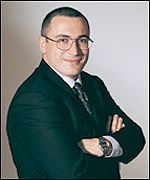 Mikhail Khodorkovsky, chairman and chief executive of Yukos