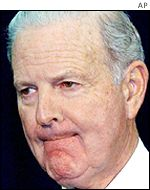 Former US Secretary of State James Baker