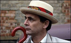 Sylvester McCoy as the seventh Doctor Who