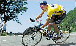 Lance Armstrong is aiming for a Tour hat-trick