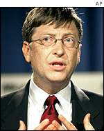 Microsoft founder Bill Gates, AP