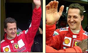 If Schumacher wins tomorrow he will break Alain Prost's record for Grand Prix wins