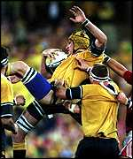Justin Harrison wins yet another lineout