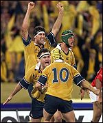 Wallaby celebration scenes have been a common sight under Macqueen