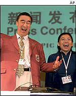 Delegados chinos en Moscú