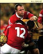 Scott Quinnell was one player who struggled with injury