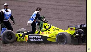 Jarno Trulli was fourth on the grid