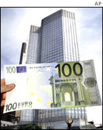 European Central Bank, euro note