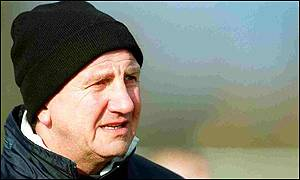 New Torquay boss Roy McFarland