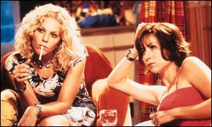 Mary McCormack and Minnie Driver