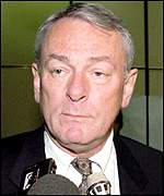 Beaten presidential candidate Dick Pound