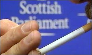 Scottish Parliament smoker