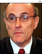 New York Mayor Rudolph Giuliani