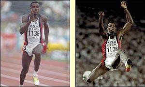 carl lewis long jump tokyo 1991