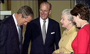 Bush meets the Queen