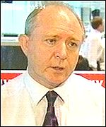 Daily Star editor Peter Hill