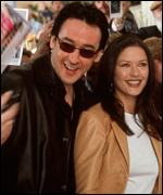 John Cusack and Catherine Zeta Jones