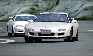The visuals of Grand Turismo 3 are excellent