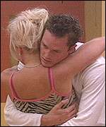 Paul and Helen from Big Brother