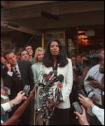 [ image: Judy Smith, Monica Lewinsky's spokeswoman, was asked lots of questions]