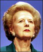 [ image: Baroness Thatcher: Appointed to Order in 1990]