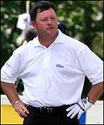 Ian Woosnam discovers he will be docked two shots