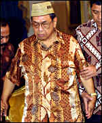 Indonesian President Wahid