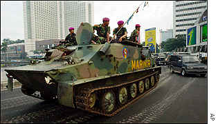 APC on the streets of Jakarta
