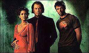 Halle Berry, John Travolta and Hugh Jackman