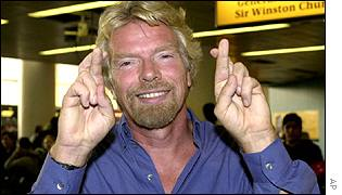 Virgin Group chairman Richard Branson