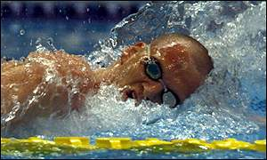 Graeme Smith  is a decent bet for a bronze medal in the 800m freestyle final