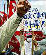 Japanese protesters