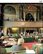 Netherlands parliament passing law