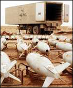 Iraqi biological weapons captured by Gulf War allies