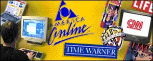 Logos of the AOL Time Warner group