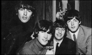 George Harrison, John Lennon, Ringo Starr and Paul McCartney