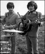 George and Paul McCartney