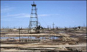 Azerbaijan oil well