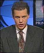Chris Morris on The Day Today