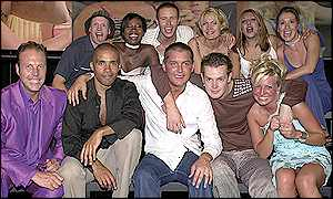 The Big Brother contestants