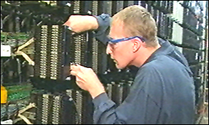 British Telecom telephone exchange