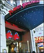 Planet Hollywood, London