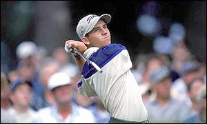 Sergio Garcia finished second in the 1999 USPGA